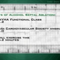 Benefits of septal ablation for obstructive cardiomyopathy maintained long-term