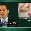 Substantial pneumothorax risk with transesophageal mediastinoscopy