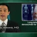 Denosumab beneficial through six years in women with low bone mass