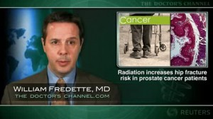 Radiation for prostate cancer increases hip fracture risk