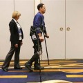 Exoskeleton Device Helps People With Paralysis Walk