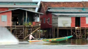 The Floating Village of Kompong Khleang, Cambodia