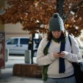 Texting While Walking May Have Physical Consequences