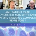 AML Patient Case: 59-Year-Old Man With INV(16) In MRD‑Negative CR1